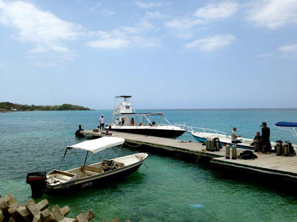 Rosario island archipelago.