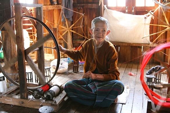 silk spinning Andria Heafy