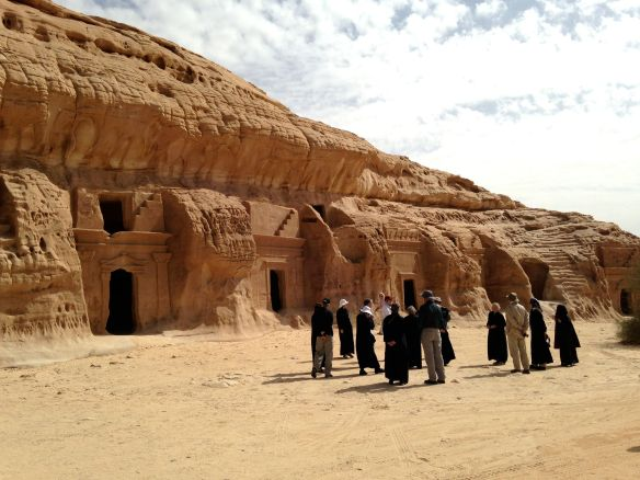 Ancient Nabataean tombs